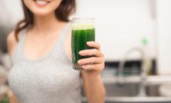 Prova på hälsosamma drycker